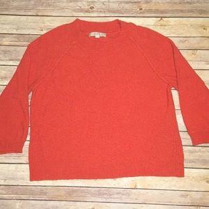 Orange Crop Fall3/4 sleeve sweater
